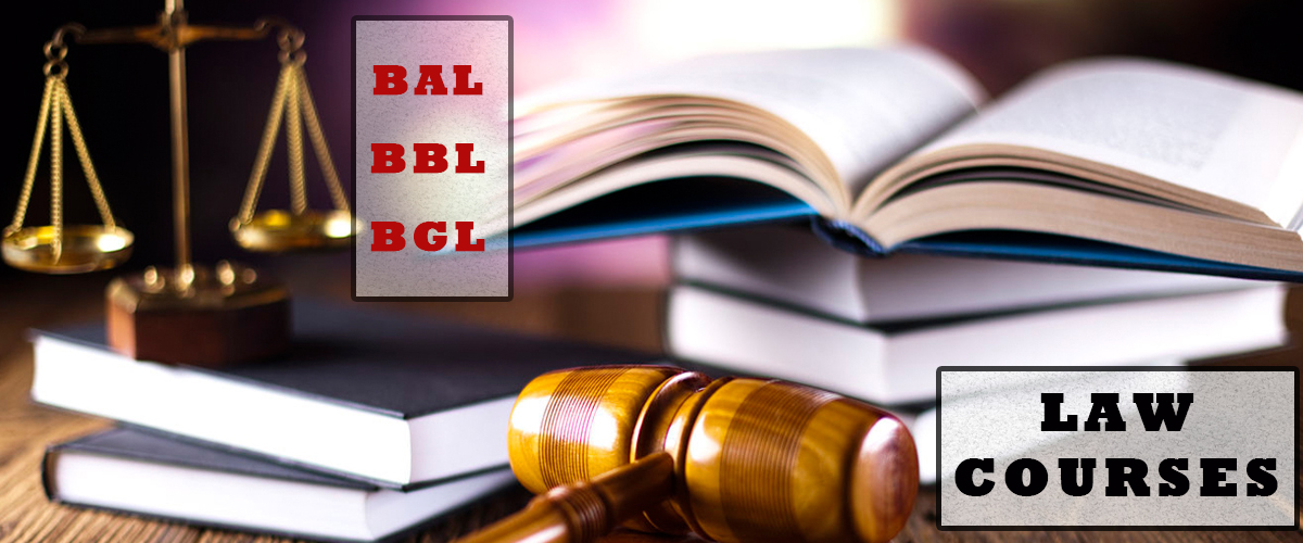 Law Courses Admission