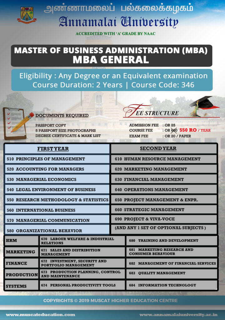 MBA General